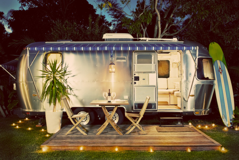 Cool Airstream Camper Gorgeous  On The Road Vintage Campers Amp Motels
