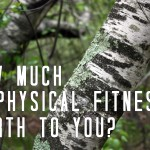 How Much is Physical Fitness Worth to You?