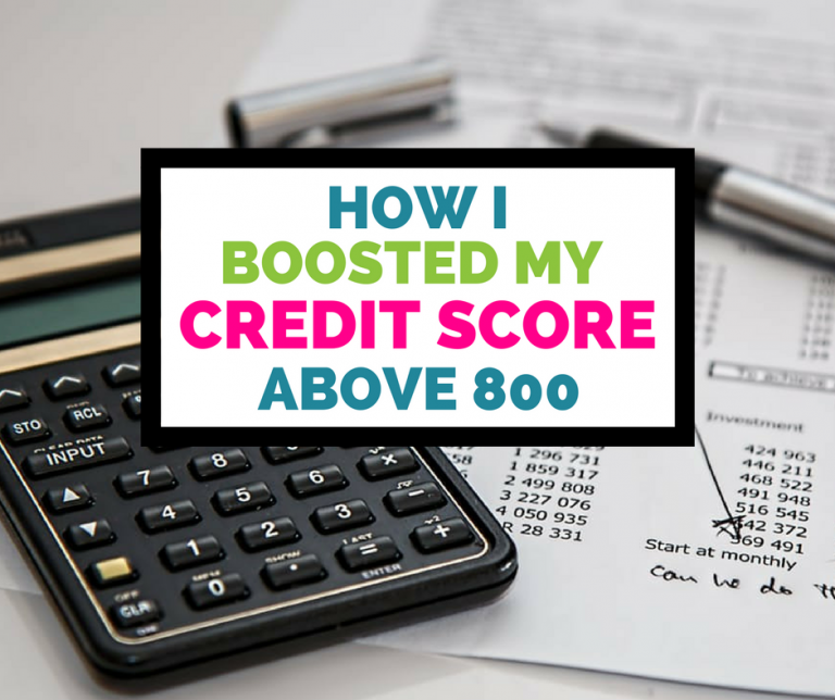 How do you get credit score above 800
